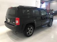 Options:  2015 Jeep Patriot High Altitude|Black