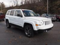 2015 Jeep Patriot Certified. CARFAX One-Owner. Clean