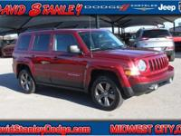 CARFAX One-Owner. Red 2015 Jeep Patriot 4WD Automatic