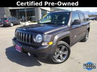 Options:  2015 Jeep Patriot High Altitude|Gray|Carfax