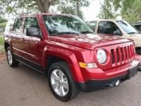 Clean CARFAX. 2015 Jeep Patriot Latitude 4WD 6-Speed