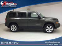 | 2015 Jeep Patriot Latitude | Four Wheel Drive | Green