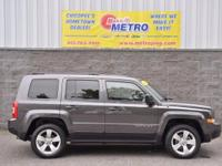 2015 Jeep Patriot Latitude  in Granite Crystal Metallic