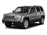 This outstanding example of a 2015 Jeep Patriot Sport
