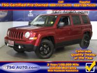 **** JUST IN FOLKS! THIS 2015 JEEP PATRIOT SPORT HAS
