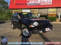 Guaranteed Approval!!  This Jeep Patriot Sport has a