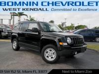 Options:  2015 Jeep Patriot Sport|Black Clearcoat|2015