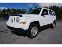 Options:  2015 Jeep Patriot Sport|White|4.12 Axle