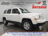 Options:  2015 Jeep Patriot Sport|White/|V4 2.0 L