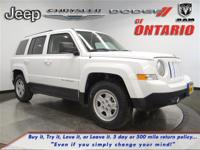 Options:  2015 Jeep Patriot Sport|Bright White