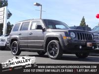 2015 Jeep Patriot Altitude  Gray, Clean Carfax!, One