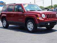 CARFAX One-Owner. This 2015 Jeep Patriot Sport in Deep