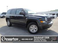 AM/FM Radio This Jeep Patriot gets great fuel economy