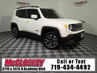 Roam the world in this 2015 Jeep Renegade Latitude
