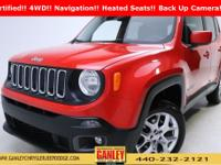 Jeep Renegade Latitude 2015 New Price! Certified.
