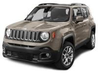 Climb inside the 2015 Jeep Renegade! Representing the