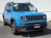 CARFAX One-Owner. Clean CARFAX. Sierra Blue 2015 Jeep