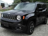 MOON ROOF!  This one owner, 2015 Jeep Renegade alloy
