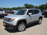 Silver 2015 Jeep Renegade Latitude 4WD 9-Speed 948TE