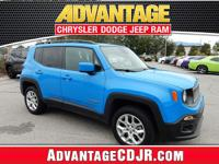 *2015 Jeep Renegade 4x4 Latitude* Sierra Blue Advantage