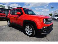 CARFAX One-Owner. Clean CARFAX. Red 2015 Jeep Renegade