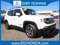 This 2015 Jeep Renegade Includes. CLEAN CARFAX NO