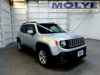 Jeep Renegade 2015 2.4L I4 MultiAir Latitude Gray
