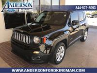 This Jeep Renegade has a dependable Regular Unleaded