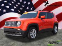 CARFAX One-Owner. Clean CARFAX. Orange 2015 Jeep
