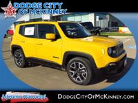 Step into the 2015 Jeep Renegade! Demonstrating