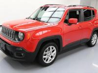 2015 Jeep Renegade with 2.4L I4 SMPI Multi Air