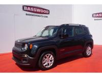 This 2015 Jeep Renegade Latitude boasts features like a