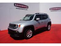 This 2015 Jeep Renegade Latitude includes a backup