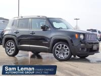 Options:  2015 Jeep Renegade Latitude|Miles: 7295Color: