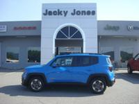 2015 Jeep Renegade Latitude in Blue, *One Owner*,