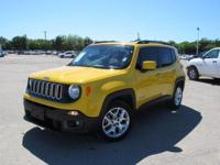 New Price! Clean CARFAX. Solar Yellow 2015 Jeep