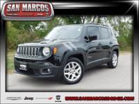 Options:  2015 Jeep Renegade Latitude|Black/-Ts|V4 2.4