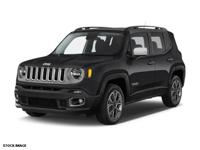 Recent Arrival! 2015 Jeep Renegade Limited New Price!