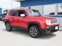 Colorado Red 2015 Jeep Renegade Limited 4WD 9-Speed