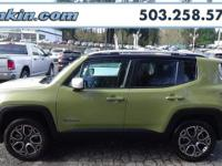 2015 Jeep Renegade Limited 2.4L I4 MultiAir Black