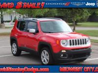 Renegade Limited, Jeep Certified, 4D Sport Utility,