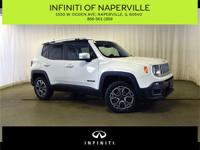 CARFAX One-Owner. Clean CARFAX. Alpine White 2015 Jeep