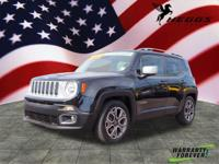 CARFAX One-Owner. Clean CARFAX. Black 2015 Jeep