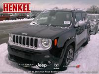 Options:  2015 Jeep Renegade Limited|Black|~~Carfax 1
