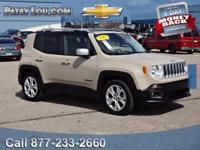 2015 Renegade Limited with LOW MILES **Rear Back-Up