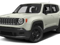 Alpine White 2015 Jeep Renegade Sport 4WD 9-Speed 948TE