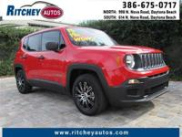 LOW MILEAGE 2015 JEEP RENEGADE SPORT 2WD**CLEAN CAR