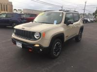 This 2015 Jeep Renegade Trailhawk in Mojave features: