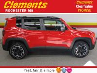 Options:  2015 Jeep Renegade 4Wd 4Dr Trailhawk|4 Wheel