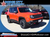 Take command of the road in the 2015 Jeep Renegade!
